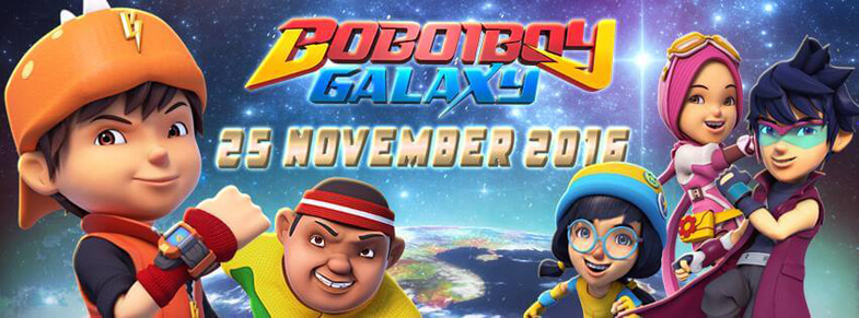 Boboiboy Galaxy Teaser Released