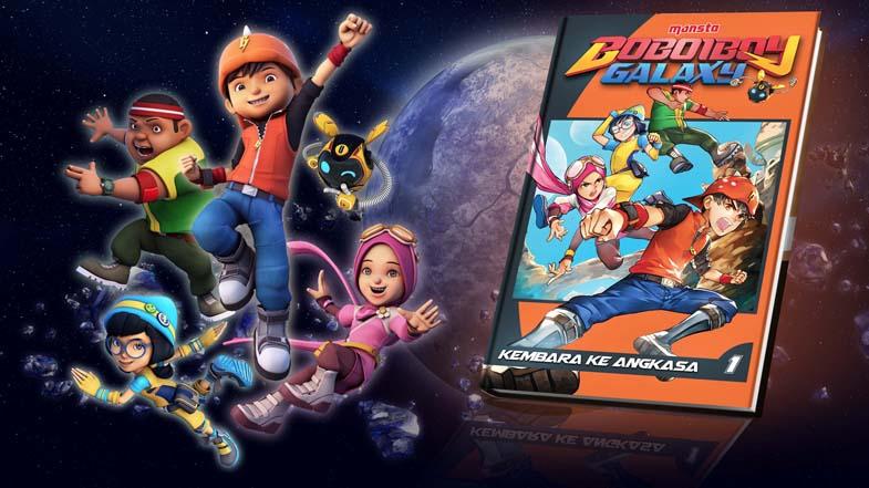 """""""BoBoiBoy Galaxy : Kembara Ke Angkasa"""" Comic Book, Now Available!"""