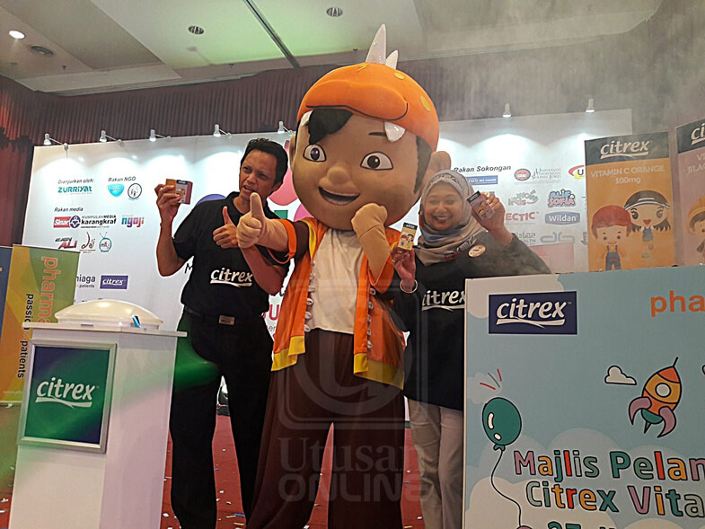 BoBoiBoy has now become the ambassador for Pharmaniaga