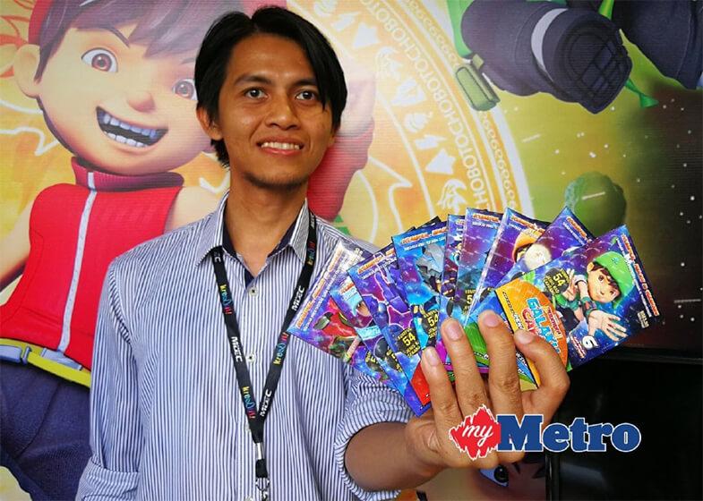 Edar 4.5 juta pek BoBoiBoy Galaxy Card™