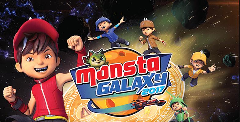 Karnival Mini 'Monsta Galaxy 2017' di Alamanda, Putrajaya