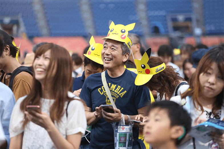 More than 2 Million Pokémon GO players visited the Pikachu Outbreak in Yokohama