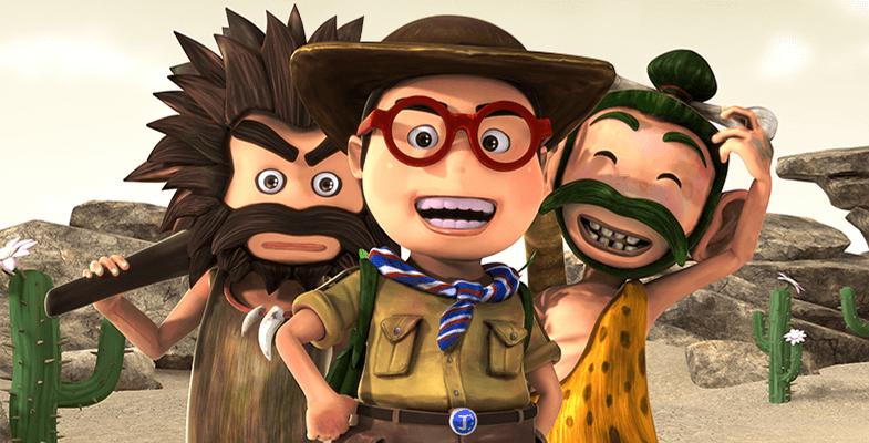 Monsta Channel's 'OKO LELE' animation is popular on YouTube