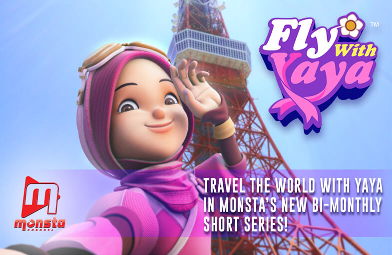 Join Yaya's adventures across the world in Fly With Yaya!