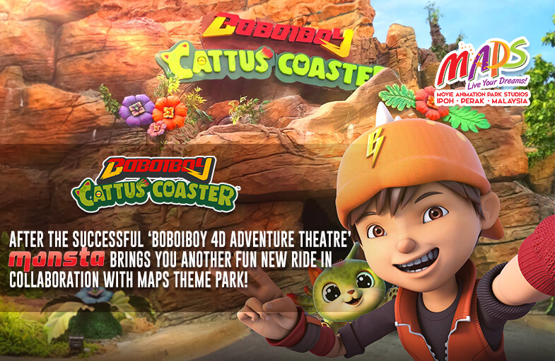 Check Out The Thrilling New Cattus Coaster ride at MAPS, Perak!