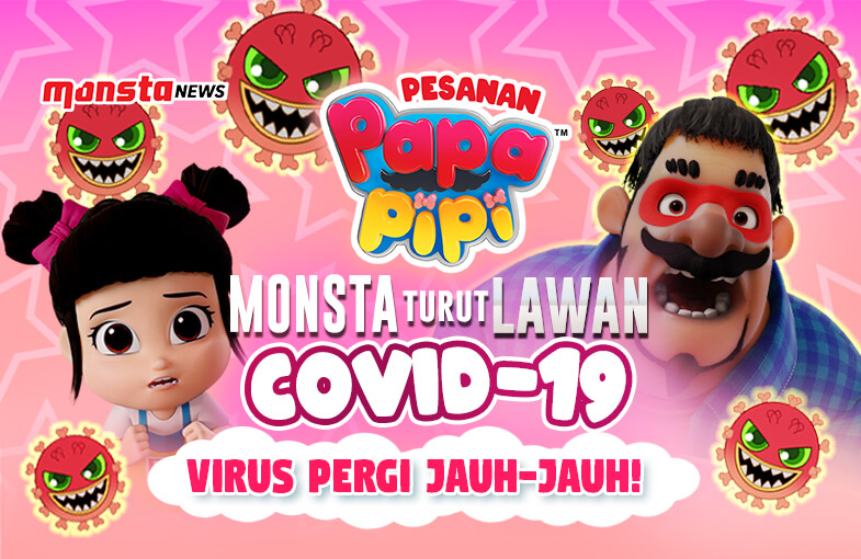 Monsta Turut Lawan COVID-19