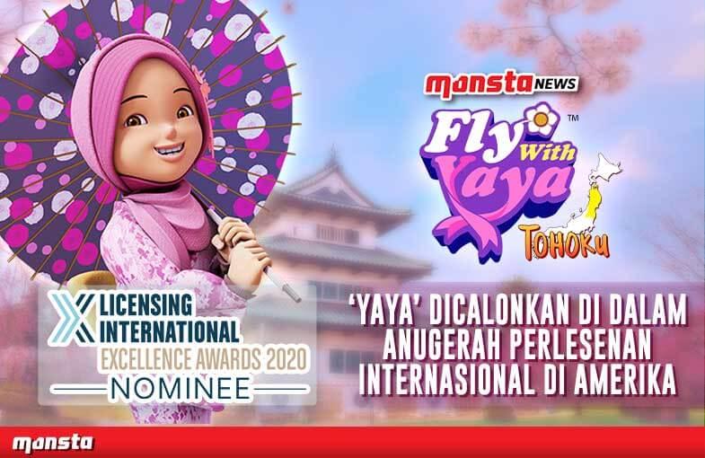 Watak Animasi Tempatan 'Yaya' Dicalonkan Dalam Anugerah Perlesenan Internasional Di Amerika Syarikat
