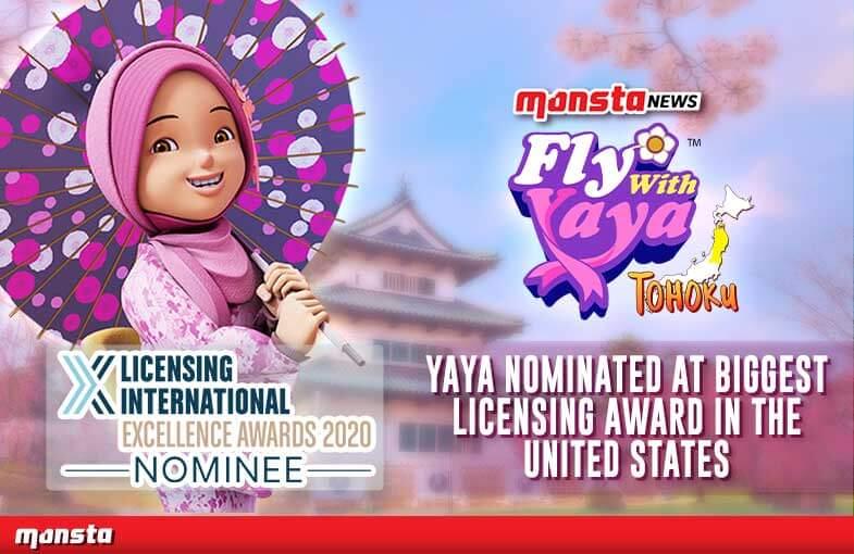 Malaysian-made Character 'Yaya' Nominated at Biggest Global Licensing Award in the United States