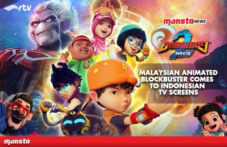 Malaysian Animated Blockbuster BoBoiBoy Movie 2 Comes to Indonesian TV Screens