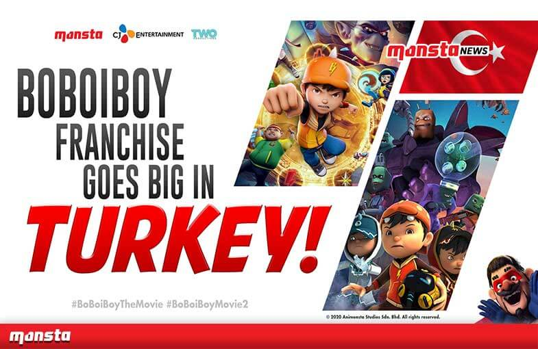 BoBoiBoy Set To Wow Moviegoers in Turkey with Back-To-Back Theatrical Releases