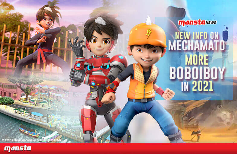 Monsta Surprises Fans With New Mechamato Info, More BoBoiBoy Next Year